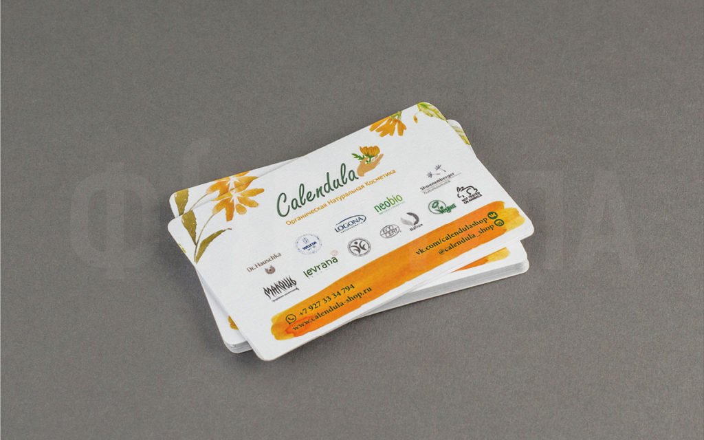 Визитные карточки | Calendula